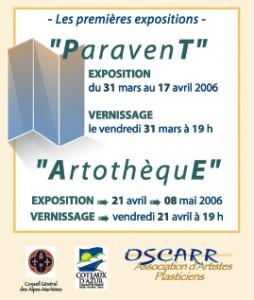 Expositions Les Paravents d'OSCARR