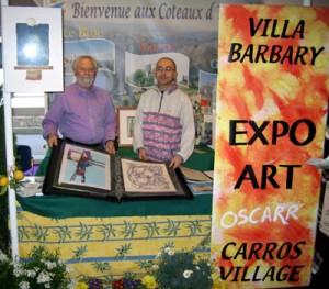 Nice foire expo avec André Appert et Pascal-Olivier Reynaud