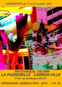 Affiche Artothèque OSCARR