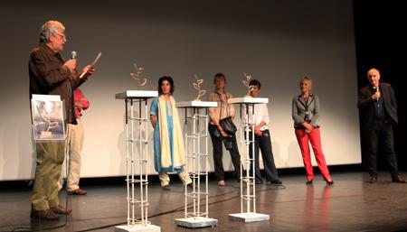Podium des lauréats 2013