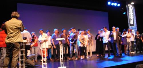 Les intervenants, cinéastes, acteurs, bénévoles