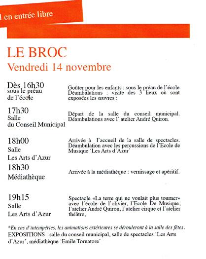 Le Broc Blog