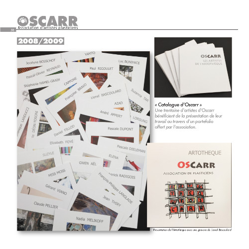 Le catalogue d'Oscarr 2008-2009