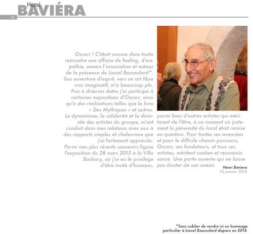 Henri Baviéra, notre invité d'Honneur
